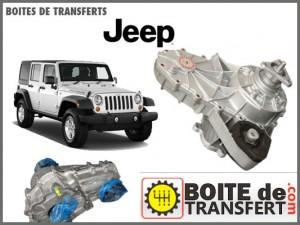 boite de transfert jeep